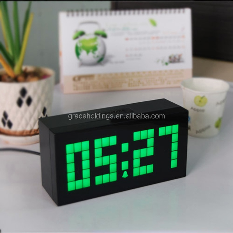 led waterproof countdown timer red/blue/yellow/whith/green 10inch big digits display led clock