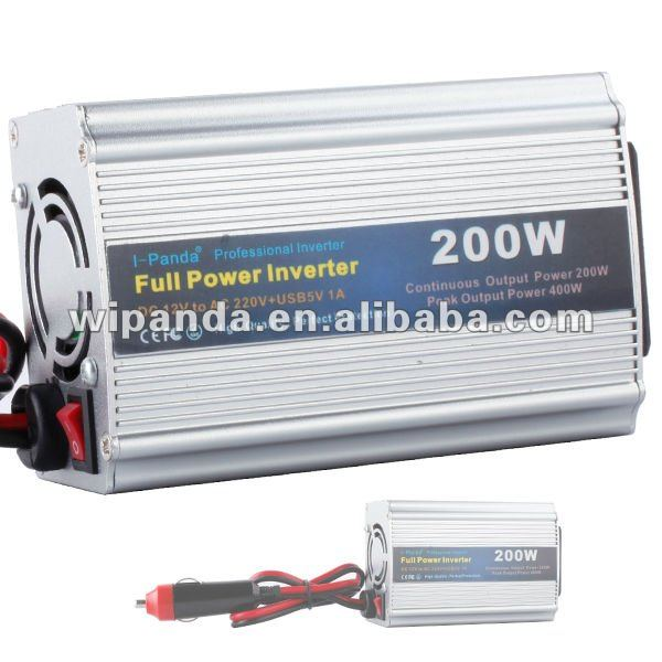 Solar power inverter/converter 200W