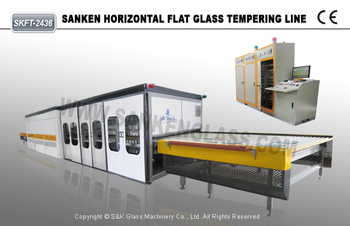 Flat Glass Tempering Machine Price Good Quality SKFT-1225