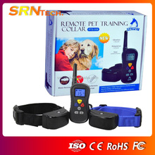 PST 008B Dog electronic Shock Training Collar for two dogs
