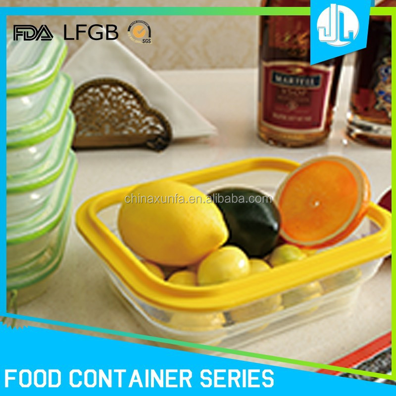 FDA & LFGB grade silicone cheap home food foldable container storage