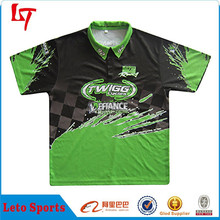 2014 Fashion Stylish Customized Motorcycle Wear /Sublimation Team Motor Jersey /Motor Racing Clothing OEM Manufacturer
