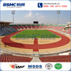 IAAF Approved Athletic Rubber Running Track Professional Manufacturer With 20 years Experience