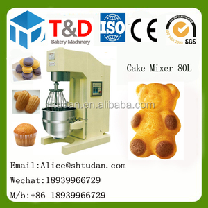 CCM-80 multifunction bakery mixer for cake cookies Planetary mixture machine bakery snack food processing mixture flour machine