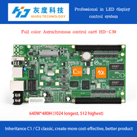 C30+D30+wifi+temperature+hub75 control card for LED display