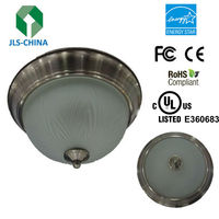 Round Glass Ceiling Light Covers 5 years warranty with UL DLC Energy Star CE FCC RoHS