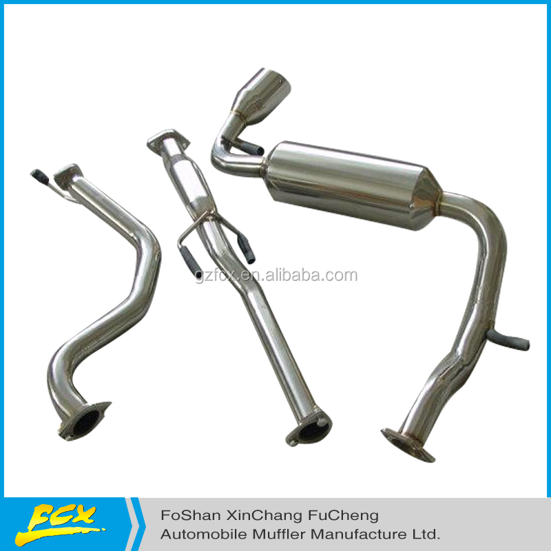 Racing AUTO EXHAUST SYSTEM HIGH PERFORMANCE 88-91 CRX Catback system with great price
