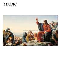 Religious Wall Art Jesus Christ Oil Painting on Canvas for Wall Decoration
