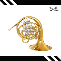 keful F key golden lacquer french horn