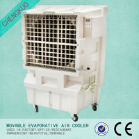 Plastic big rectangular roof mounted duct evaporative air coolers