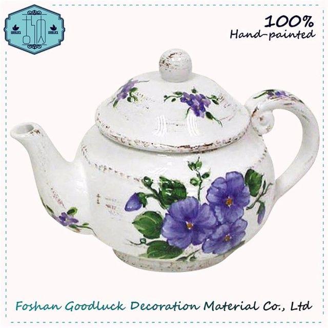 Crockery Purple Teapot Single Classic Lavender Tea Set