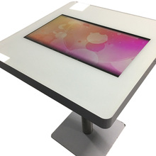"Stylish Metal <strong>bar</strong> table with 21.5"" touch screen android wilress wifi"