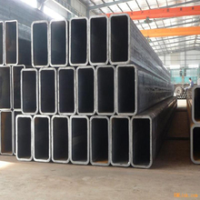 ERW black Modern workshop produce 200x200 mm ms iron structure steel ms square pipe price