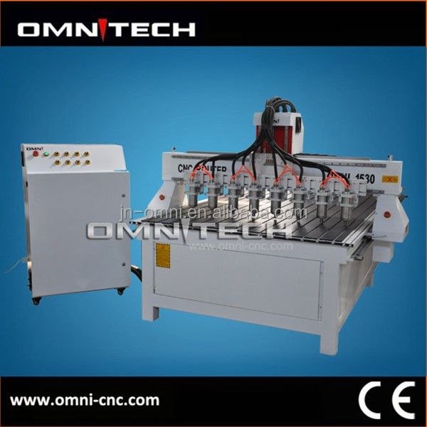Multi heads CNC machine for mass production
