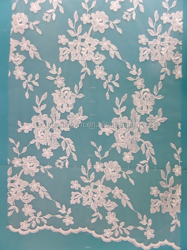 indian embroidery lace french lace fabric applique tulle lace for dress