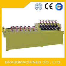factory price 24 wheels copper tube straightening machine