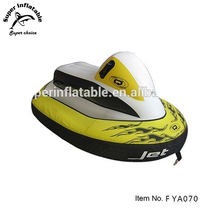 Inflatable Kid's Snowmobile Snow Tube Sled for winter sport