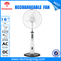 14''Rechargeable Battery Operated Stand Rechargeable oscillating Fans