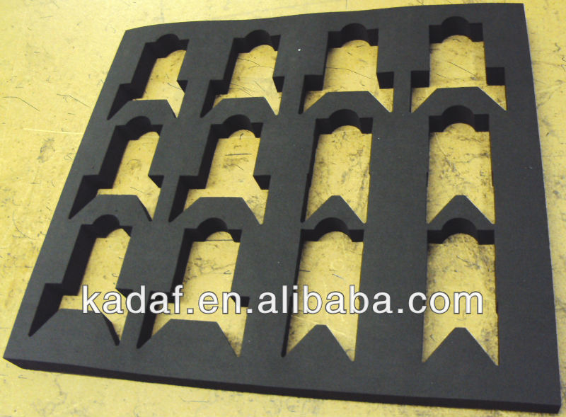 custom cut out foam,die cutting foam inserts