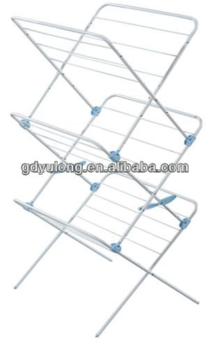 2016 New Fashion 3 Tiers Metal Drying Rack