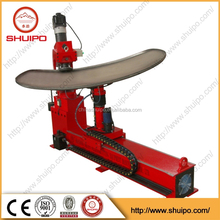 no template irregular dished head folding machine for tank line