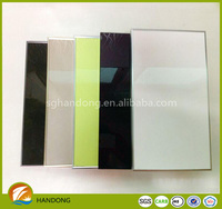 high glossy UV coated melamine faced MDF board /UV coating MDF board made from shandong China uv panels