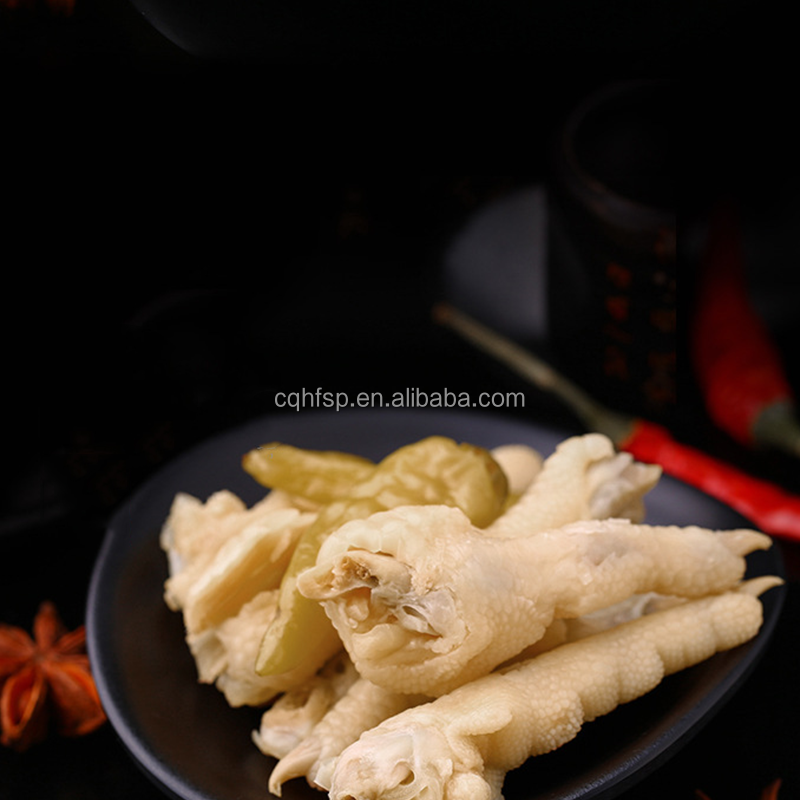 wholesale delicious pickled chicken feet snacks