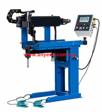 LONGITUDINAL STRAIGHT WELDING MACHINE
