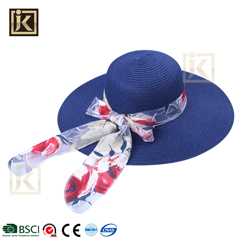 Cheap Price Lady's Summer Beach Sun Travelling Floppy Hat