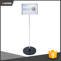 New Style Adjustable Poster Board Stands Floor Display Stand
