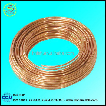 High electric conductivity bare copper stranded wire