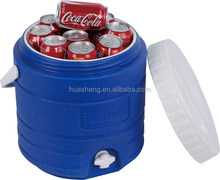 household wooden ice bucket cooler