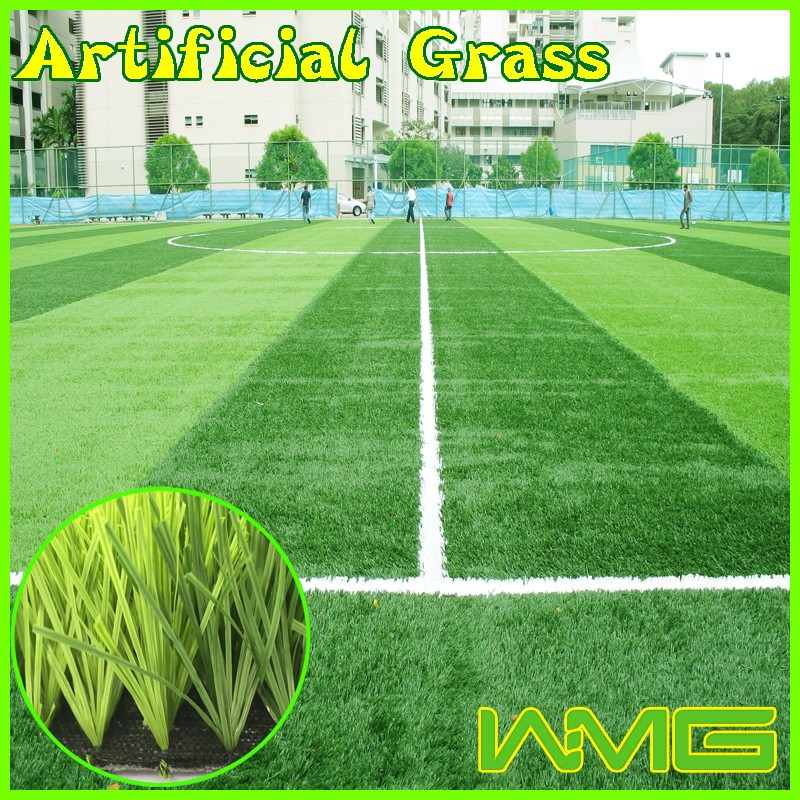 Professional soccer pitch artificial lawn grass