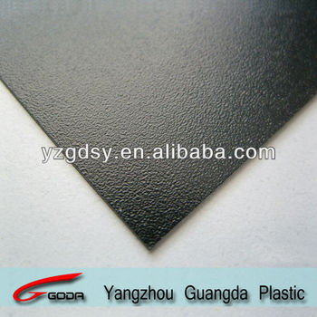 black rough matt rigid PVC sheets china