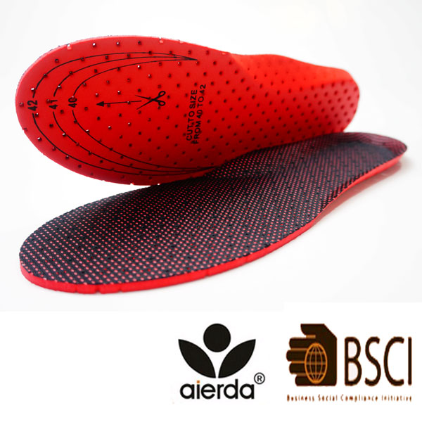 Promotion hot selling anatomical insoles for shoes