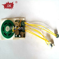 Recordable custom sound module push button