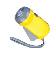 3 LED promotional dynamo torch
