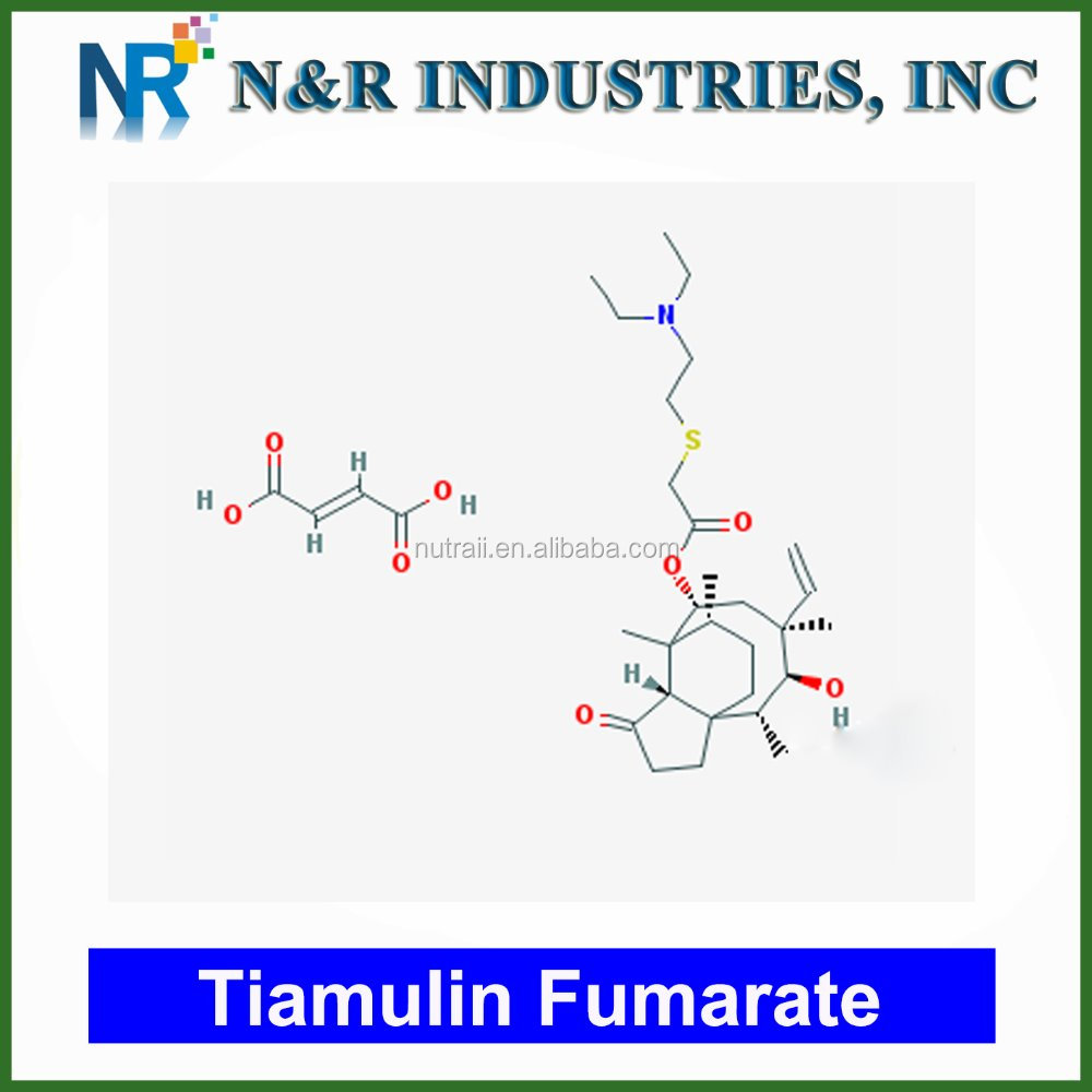 Wholesale Tiamulin/Tiamulin hydrogen fumarate & Tiamulin fumarate