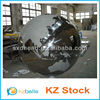 stainless ssteel hollow decorative ball contains continent and seas