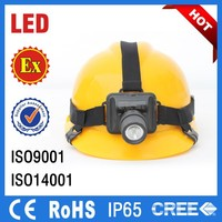 CE RoHS approved ATEX Explosion Proof Led Headlamp, Safety LED Head Lamp/IP65 Mining Lamp/Miner Lamp for Sale/LED Mining Light