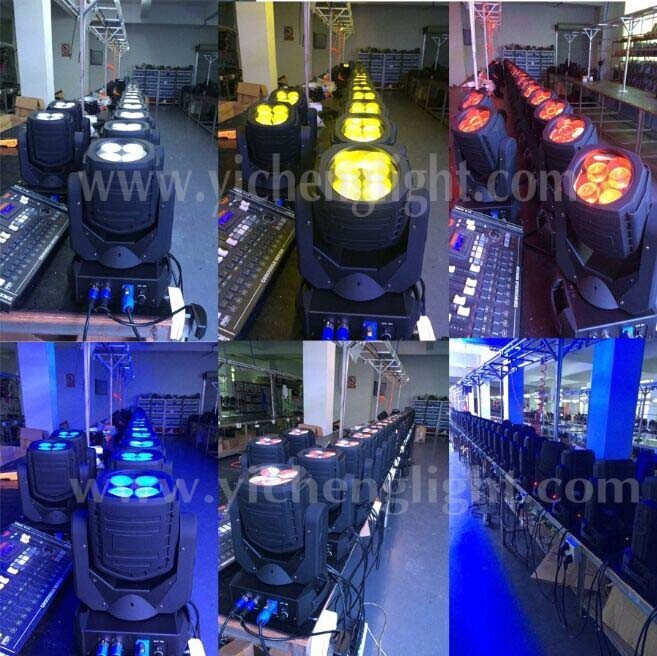 Small Club Mini Moving Head 4*25W Super Beam Moving Head With High quality More Brightness