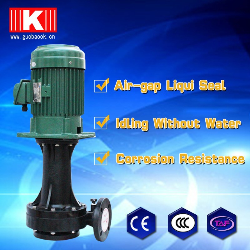 5HP vertical pump , anti-corrosion vertical pump