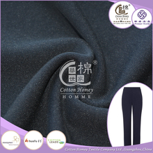 Polyester Shirting Herringbone Interlock Fabric 100S Mercerized Combed Cotton Fabric for Pants
