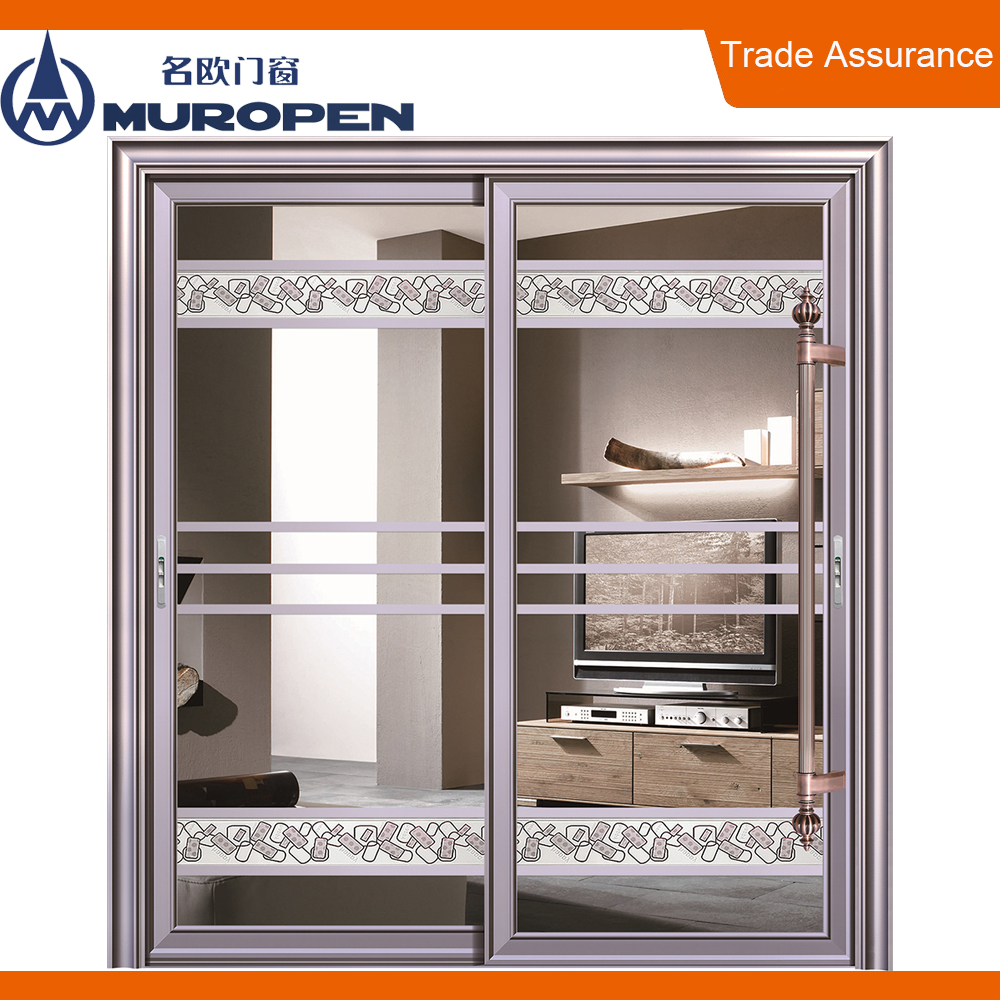 Aluminum sale vertical sliding windows single pane garage door sliding windows