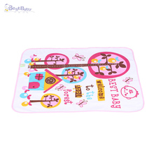 Double layer Washable Baby Infant Cotton Waterproof Diaper Changing Mat