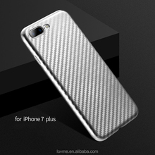 Carbon Fiber Soft TPU Case For iPhone 7 Anti Shock Back Cover Full Body, mobile phone for iphone 7 unlocked