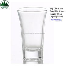 68ml Heavy Base Vodka Shot Glass with Printing Logo