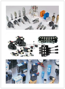 hydraulic piston solenoid valve block mobile valve