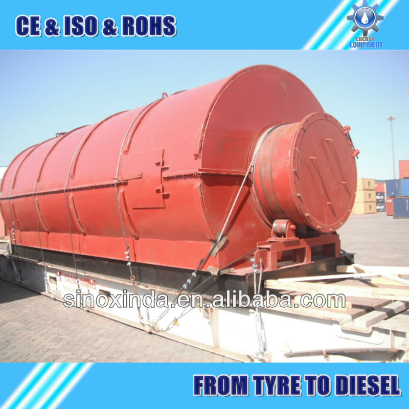 2014 XD crude oil from tyre machine with top quality
