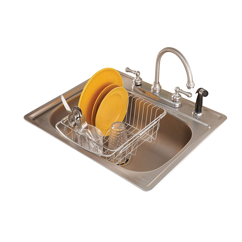 Eco-Friendly Stainless Steel / Aluminum Alloy Dish Drying Rack